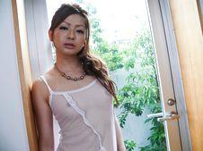 Yukina Momose-Lovely babe Yukina Momose caressing her boobies and her cherry Picture 5