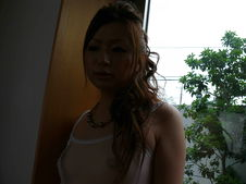 Yukina Momose-Lovely babe Yukina Momose caressing her boobies and her cherry Picture 6