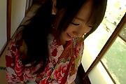 Hitomi Oki amazing hardcore sex with random man  Photo 1