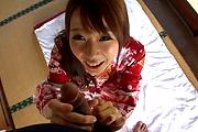 Hitomi Oki amazing hardcore sex with random man  Photo 9