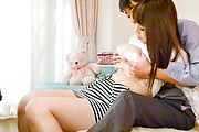 Japanese with big tits deals cock like a goddess Photo 1