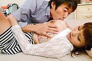 Japanese with big tits deals cock like a goddess Photo 5