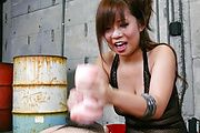 Konatsu Aozona gives a great tit fucking with big asian tits Photo 11