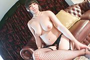 Premium solo XXX with babe in hot Japanese stockings  Photo 4