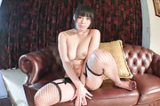 Premium solo XXX with babe in hot Japanese stockings  Photo 5