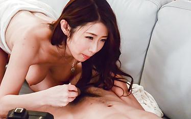 Busty Ayumi Shinoda enjoys cock in fantasy modes