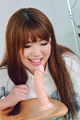 Arisa Ando removes her Asian lingerie for a good fuck Photo 3