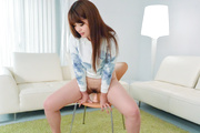 Arisa Ando removes her Asian lingerie for a good fuck Photo 6