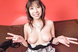 Big titsHina Tokisakagets nasty ontwo juicy cocks