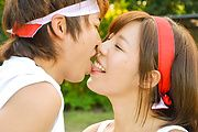 Sexy Japanese street sex with young Sara Saijo Photo 2