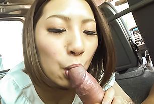 Top POV blowjob scenes along nastyRan Minami