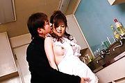Moe Yoshikawa's Fuckable MILF Body Adorned With Stockings Photo 3