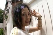 Asian anal porn along gorgeousYui Komine Photo 4