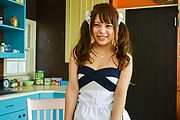 Yuuka Kaede gets toys to stimulate her shaved pussy  Photo 3