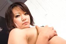 Haruka Uchiyama-Perky and kinky babe pussy rubbing and toying Picture 2