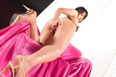 Haruka Uchiyama-Perky and kinky babe pussy rubbing and toying Picture 5