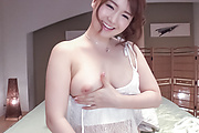Yui Nishikawa loves spinning the toy in her holes  Photo 10