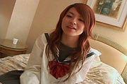 セーラー服の関西弁ギャル~らん Photo 6