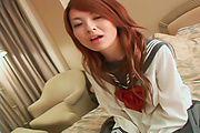 セーラー服の関西弁ギャル~らん Photo 7