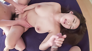 Big tits wife hard fucked and jizzed on face