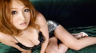 Yuki Touma rides cock and bounces her big tits