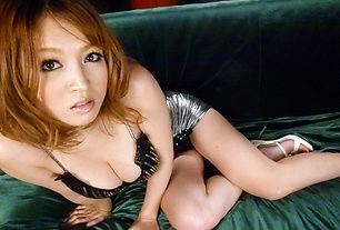 Yuki Touma rides cock and bounces her big tits