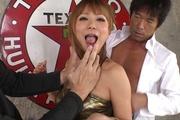 イケイケ黒ギャルと連続中出し 彩音心愛 Photo 10