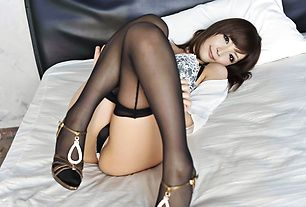 Riona Suzune has her shaved housewife pussy creampied