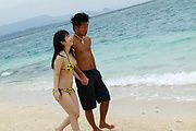 Great Fuck And Creampie With Hina Maeda At The Beach Photo 1