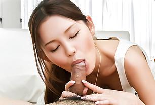 Special cock sucking POV romance by Emiri Okazaki