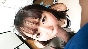 Stunning Asian blowjob by sensual Sakura Nozomi