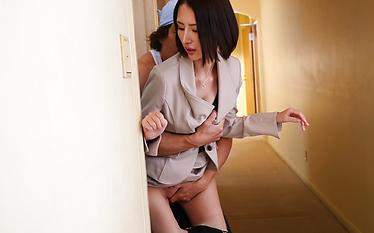 Rina Nanase fucked and made to swallow big time