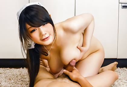 Big tits Rie Tachikawa enjoying a tasty dick