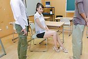 Asian milf, YuiOba,is busy with some cocks Photo 2