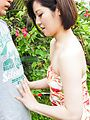 Japanese outdoor blowjob scenes withMinami Asano Photo 6