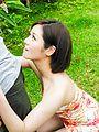 Japanese outdoor blowjob scenes withMinami Asano Photo 7