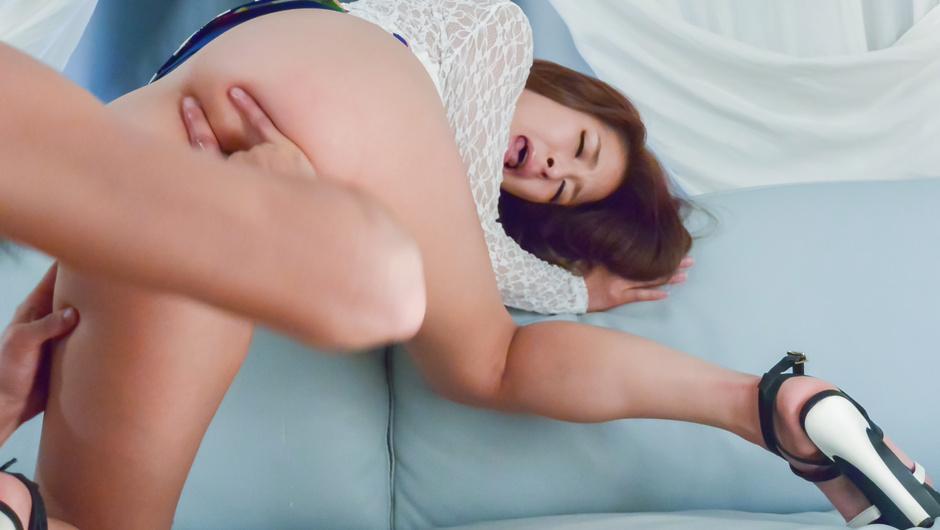 Superb POV masturbation show along youngNana Ninomiya