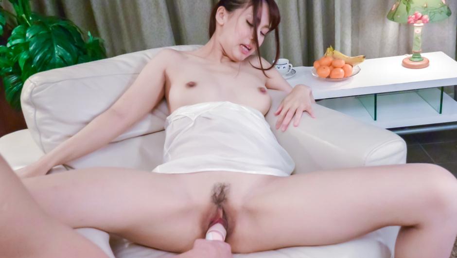 Adorable POV Asian dildo porn withYui Oba