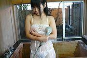 潮吹きシャワーオナニー 小野こゆき Photo 11