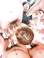 Cutie Kaho Kitayama having her shaved pussy nailed right  Photo 1