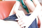 Mirai gives a great footjob and blowjob in japanese POV Photo 4
