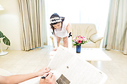 Top POV sex with a sexy Japanese maid on fire Photo 1