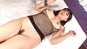 Big titted MILF Chihiro Manaka banged in asian lingerie