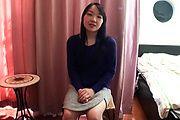 Mayu Kudo's hairy teen twat banged hard in asian POV Photo 1