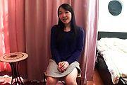 Mayu Kudo's hairy teen twat banged hard in asian POV Photo 2