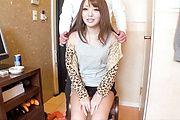 Perky teen Nana Asano gets her hole creamed in japanese POV Photo 1