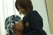 Asian amateur devours cock in her warm mouth Photo 2