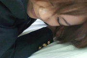 Asian amateur devours cock in her warm mouth Photo 4