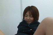 Asian amateur devours cock in her warm mouth Photo 8