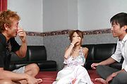 Premium Asian anal sex with sensual Ema Kisaki Photo 3